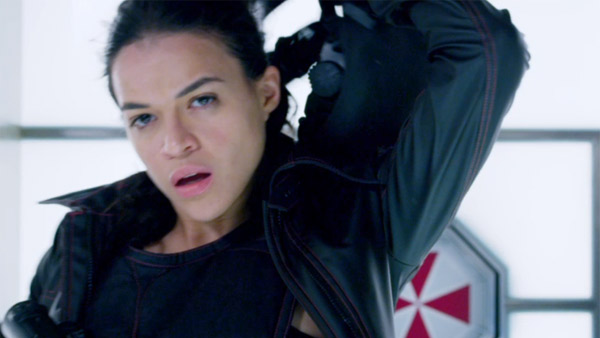Michelle Rodriguez appears in a scene from the...
