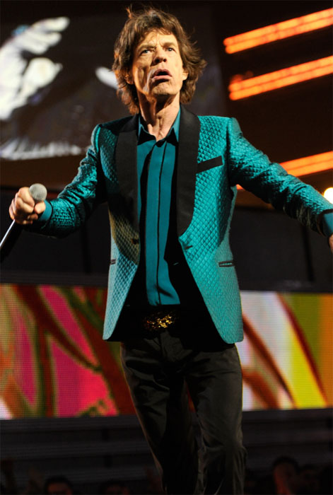Mick Jagger turns 69 on July 26, 2012. The musician is known for his work with The Rolling Stones with songs such as &#39;Gimme Shelter,&#39; &#39;Love In Vain&#39; and &#39;Country Honk.&#39;&#40;Pictured: Mick Jagger appears in a photo posted on his official website.&#41; <span class=meta>(mickjagger.com)</span>
