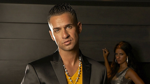Mike 'The Situation' Sorrentino appears in a photo posted on his official Twitter page on December 19, 2011.