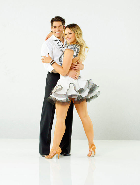 Mike Catherwood, known to his KROQ and Loveline Radio listeners as 'Psycho Mike' partners with Lacey Schwimmer, who is back for her fourth season on season 12 of 'Dancing with the Stars,' which premieres on March 21 at 8 p.m.