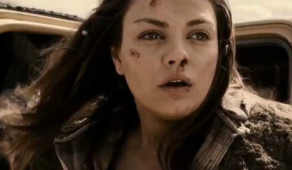 Mila Kunis appears in a scene from the 2010 film 'The Book of Eli.'
