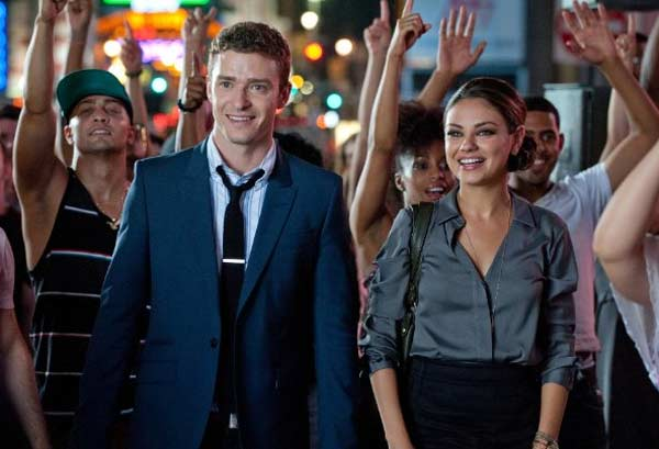 Mila Kunis appears in a scene from the 2011 film 'Friends with Benefits.'