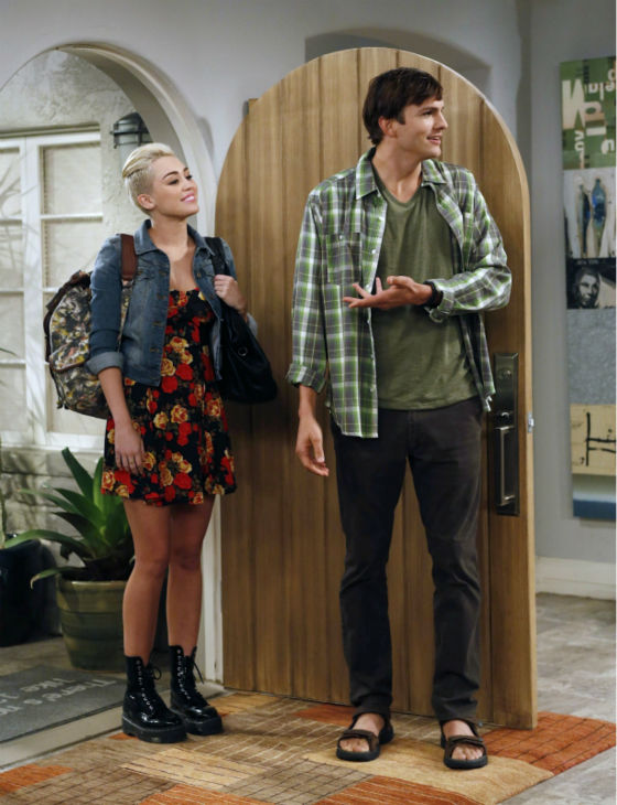 "<div class=""meta image-caption""><div class=""origin-logo origin-image ""><span></span></div><span class=""caption-text"">Walden (Ashton Kutcher) and Missi (special guest star Miley Cyrus, right) appear on an episode of the CBS series 'Two and a Half Men' that aired on Oct. 18, 2012. (Greg Gayne / Warner Bros. Television / CBS)</span></div>"