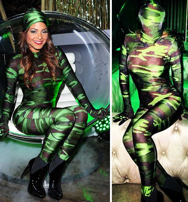 Chrisina Milian appears at a Halloween party sponsored by Midori Green at Bootsy Bellows in Los Angeles on Oct. 29, 2013. <span class=meta>(Michael Simon &#47; Startraksphoto.com &#47; instagram.com&#47;p&#47;gFBriXsWtc&#47; &#47; instagram.com&#47;christinamilian)</span>
