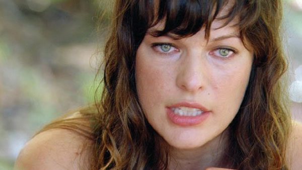 Milla Jovovich appears in a still from her 2009...