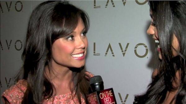 Vanessa Minnillo talks to OnTheRedCarpet.com in...
