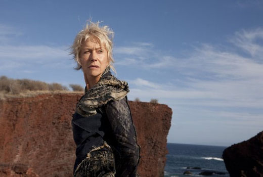 Dame Helen Mirren in a scene from 'The Tempest.'