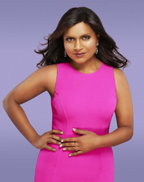 Mindy Kalling appears in a promotional photo for 'The Mindy Project' in 2012.