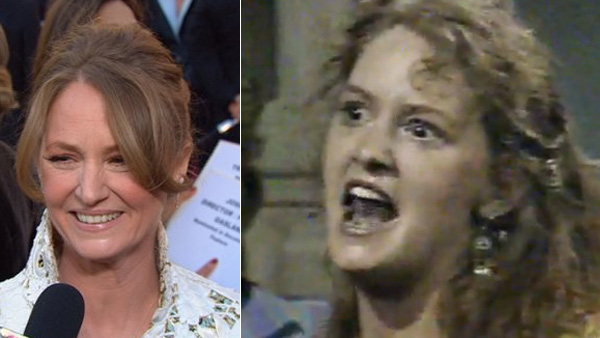 "<div class=""meta ""><span class=""caption-text "">Melissa Leo, who won an Oscar for her role as Micky 'Irish' Ward's mother in the 2010 movie 'The Fighter,' played Linda Warner on 'All My Children' between 1984 and 1985. (Pictured: Melissa Leo at the 2011 Academy Awards on Feb. 27, 2011. / Melissa Leo appears in a scene from 'All My Children.') (ABC)</span></div>"