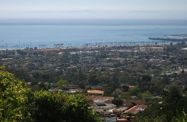 A scenic photo of Montecito, California.