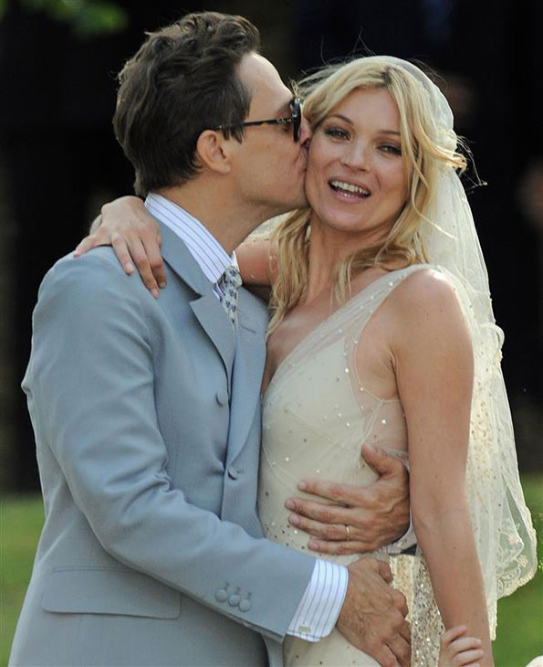 "<div class=""meta ""><span class=""caption-text "">Supermodel Kate Moss married Jamie Hince on July 1, 2011 in Southrop, England. She wore a vintage, lace Galliano wedding gown. (Ben Harrison / Startraksphoto.com)</span></div>"