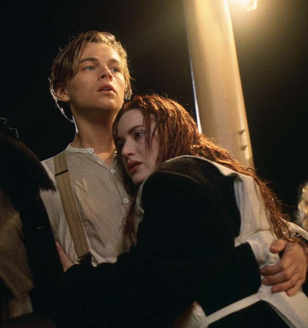Leonardo DiCaprio appears in the 1997 film &#39;Titanic,&#39; where he played the character Jack Dawson. The film, directed by James Cameron and co-starring Kate Winslet as Rose DeWitt Bukater, remains one of the highest grossing films of all time. <span class=meta>(20th Century Fox)</span>