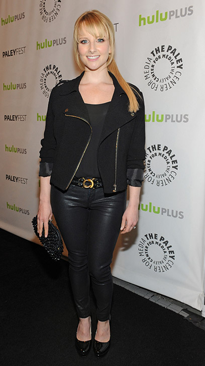 "<div class=""meta ""><span class=""caption-text "">'The Big Bang Theory' star Melissa Rauch (Bernadette Rostenkowski) attends the Paley Center for Media's PaleyFest honoring the CBS show at the Saban Theatre, courtesy of Samsung Galaxy, on Wednesday, March 13, 2013 in Los Angeles. (Kevin Parry for Paley Center for Media)</span></div>"
