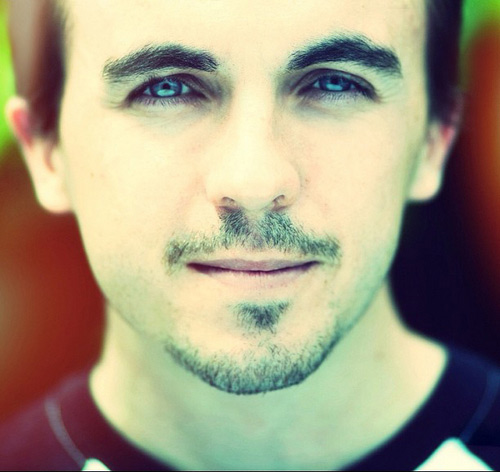 Frankie Muniz appears in an undated photo posted on his Twitter page.