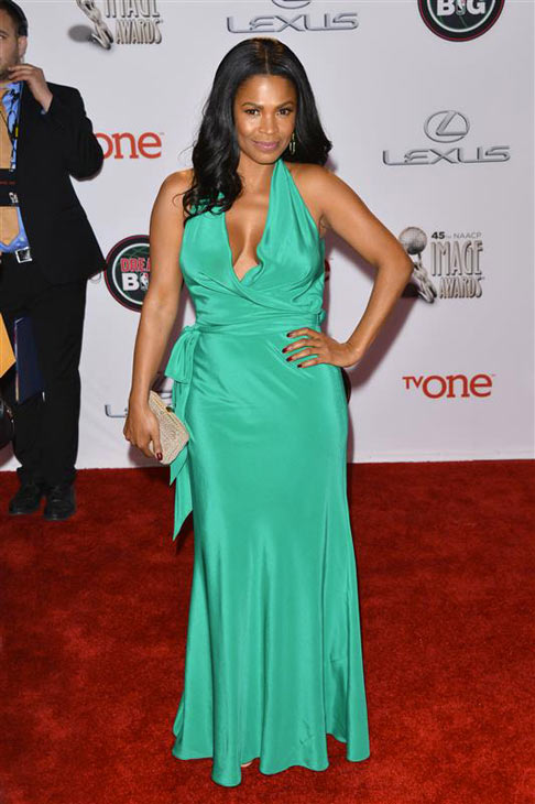 Nia Long appears at the 2014 NAACP Image Awards in Pasadena, California on Feb. 22, 2014. <span class=meta>(Tony DiMaio &#47; Startraksphoto.com)</span>