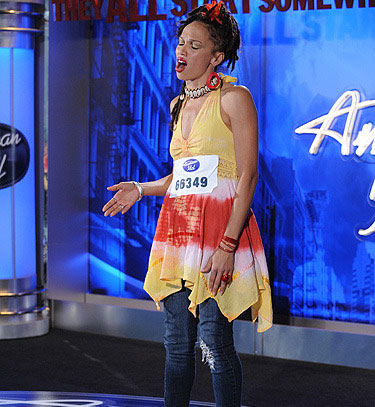 Naima Adedapo, a 26-year-old from Milwaukee, was made an &#39;American Idol&#39; Top 24 finalist. &#40;Pictured: Naima Adedapo performs in front of the judges on &#39;American Idol&#39; on an episode that aired on Jan. 26, 2011.&#41; <span class=meta>(FOX)</span>