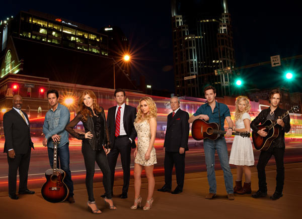 The new ABC series &#39;Nashville,&#39; which stars Connie Britton and Hayden Panettiere, will premiere on October 10, 2012 and will air on Wednesdays from 10 to 11 p.m. ET. The drama sees the two playing rival country stars - Britton portrays a veteran singer and Panettiere plays a new, hungry young country music that appears to be hell-bent on stealing the spotlight. The latter actress, who dabbled in a pop music career, said her character is no Taylor Swift. Check out what the actresses had to say about the show. <span class=meta>(ABC &#47; Craig Sjodin)</span>