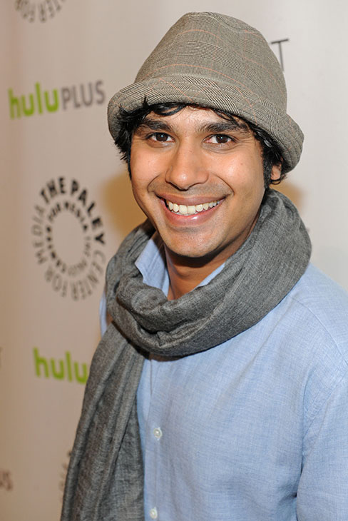&#39;The Big Bang Theory&#39; star Kunal Nayyar attends the Paley Center for Media&#39;s PaleyFest honoring the CBS show at the Saban Theatre, courtesy of Samsung Galaxy, on Wednesday, March 13, 2013 in Los Angeles. <span class=meta>(Kevin Parry for Paley Center for Media)</span>