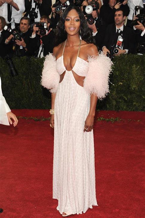 Naomi Campbell appears at the Metropolitan Museum of Art&#39;s 2014 Costume Institute Benefit gala, celebrating &#39;Charles James: Beyond Fashion,&#39; in New York on May 5, 2014. <span class=meta>(Bill Davila &#47; Startraksphoto.com)</span>