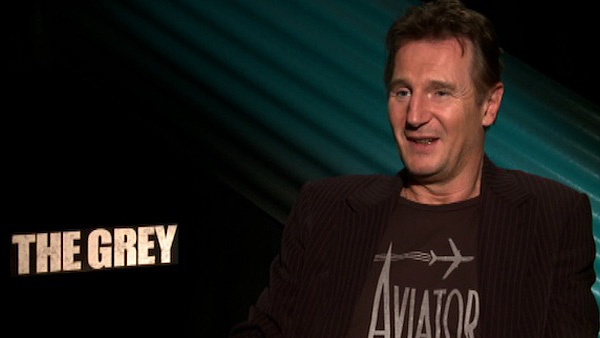 Liam Neeson talks to OnTheRedCarpet.com in...