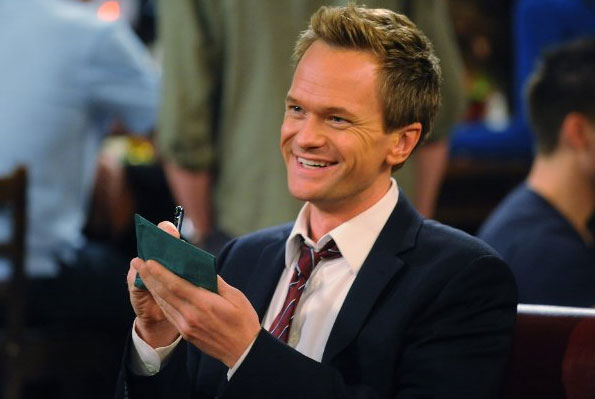 Neil Patrick Harris appears in a scene from the 2005 show 'How I Met Your Mother.'