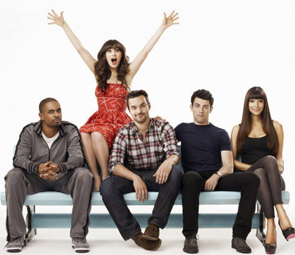 (Pictured: Zooey Deschanel appears in a scene from the FOX show 'New Girl.')