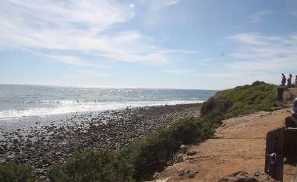 The view from Jack Nicholson&#39;s Malibu home. The three-bedroom, two-bathroom house lies of about 70 acres of land and was put on the market in the spring of 2011 for &#36;4.25 million. <span class=meta>(MLS &#47; Rodrigo Iglesias, Hilton &amp; Hyland)</span>