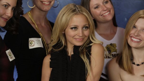 Nicole Richie appears in a scene from the TV...