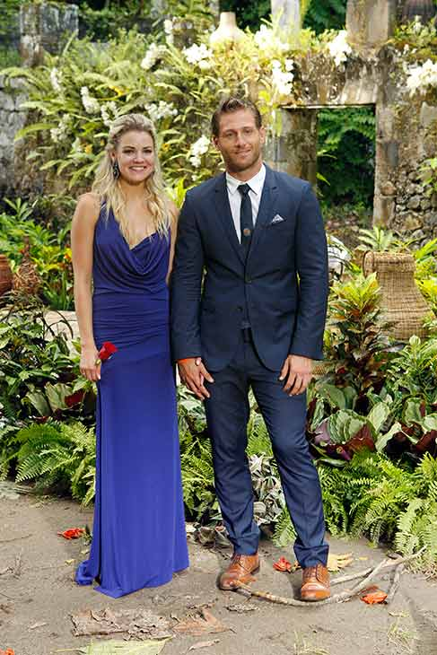 "<div class=""meta image-caption""><div class=""origin-logo origin-image ""><span></span></div><span class=""caption-text"">'The Bachelor' star Juan Pablo Galavis and winner Nikki appear in St. Lucia in a publicity photo for the season 18 finale of ABC's 'The Bachelor,' which aired on March 10, 2014. (ABC Photo / Rick Rowell)</span></div>"