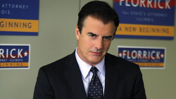 Chris Noth appears in a scene from the show 'The Good Wife.'