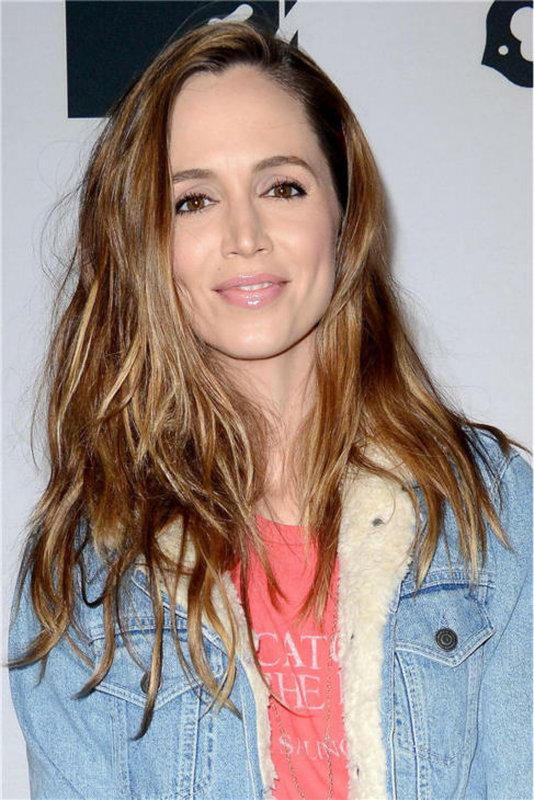 Eliza Dushku attends the premiere of 'CBGB' at the BGB Music and Film Festival in New York on Oct. 8, 2013.