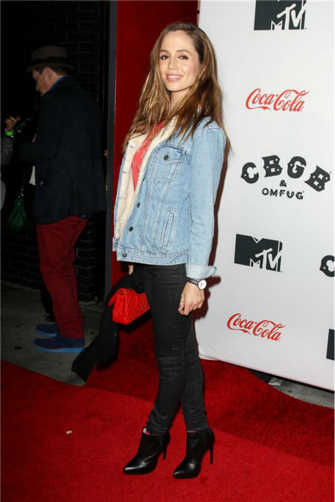 Eliza Dushku attends the premiere of &#39;CBGB&#39; at the BGB Music and Film Festival in New York on Oct. 8, 2013. <span class=meta>(Kristina Bumphrey &#47; Startraksphoto.com)</span>