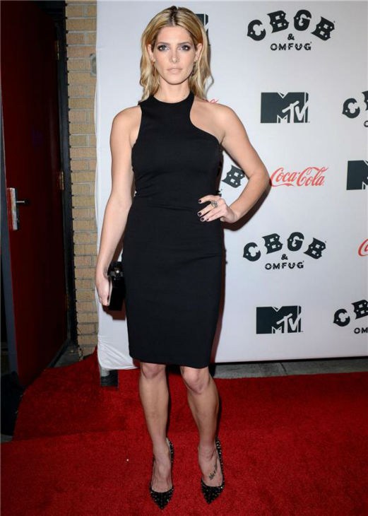 "<div class=""meta image-caption""><div class=""origin-logo origin-image ""><span></span></div><span class=""caption-text"">Stana Katic attends the premiere of 'CBGB' at the BGB Music and Film Festival in New York on Oct. 8, 2013. (Humberto Carreno / Startraksphoto.com)</span></div>"