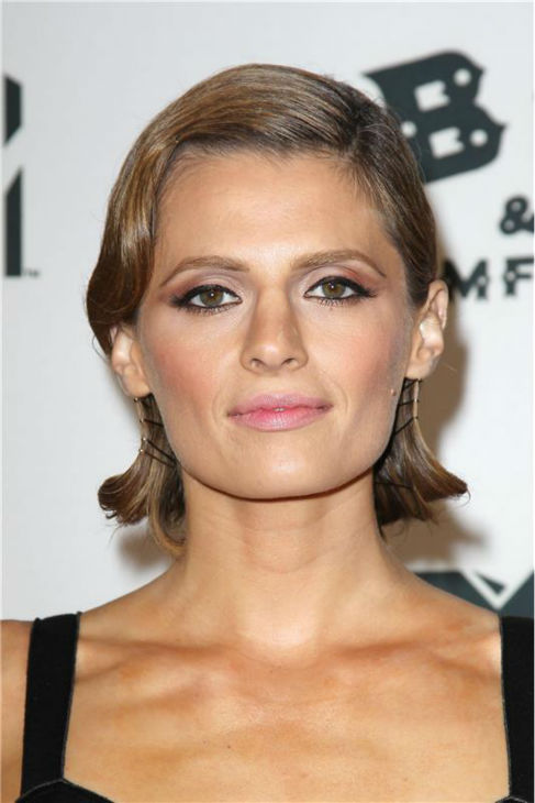 "<div class=""meta image-caption""><div class=""origin-logo origin-image ""><span></span></div><span class=""caption-text"">Stana Katic attends the premiere of 'CBGB' at the BGB Music and Film Festival in New York on Oct. 8, 2013. (Kristina Bumphrey / Startraksphoto.com)</span></div>"