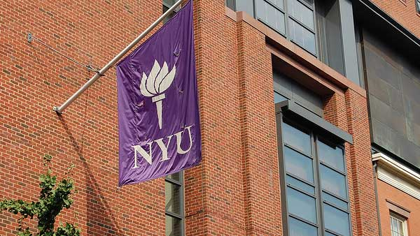 A photo of New York University from 2008.