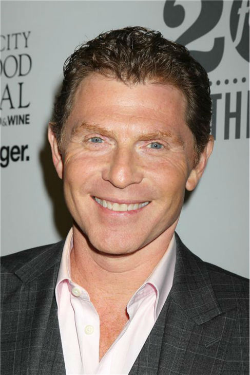 Bobby Flay attends the Food Network&#39;s 20th birthday bash at the New York City Food and Wine Festival at Pier 92 on Oct. 17, 2013. <span class=meta>(Dave Allocca &#47; Startraksphoto.com)</span>