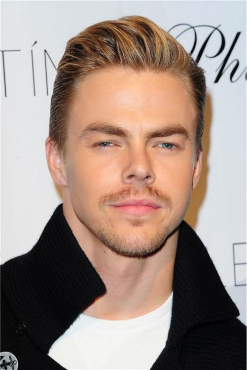 'Dancing With The Stars' pro dancer Derek Hough attends a launch party for VALENTIN, co-star Val Chmerkovskiy's urban streetwear couture brand clothing line, in Los Angeles on Oct. 17, 2013.