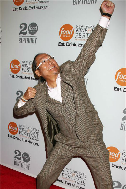 "<div class=""meta image-caption""><div class=""origin-logo origin-image ""><span></span></div><span class=""caption-text"">'Iron Chef America' star Masaharu Morimoto attends the Food Network's 20th birthday bash at the New York City Food and Wine Festival at Pier 92 on Oct. 17, 2013. (Dave Allocca / Startraksphoto.com)</span></div>"