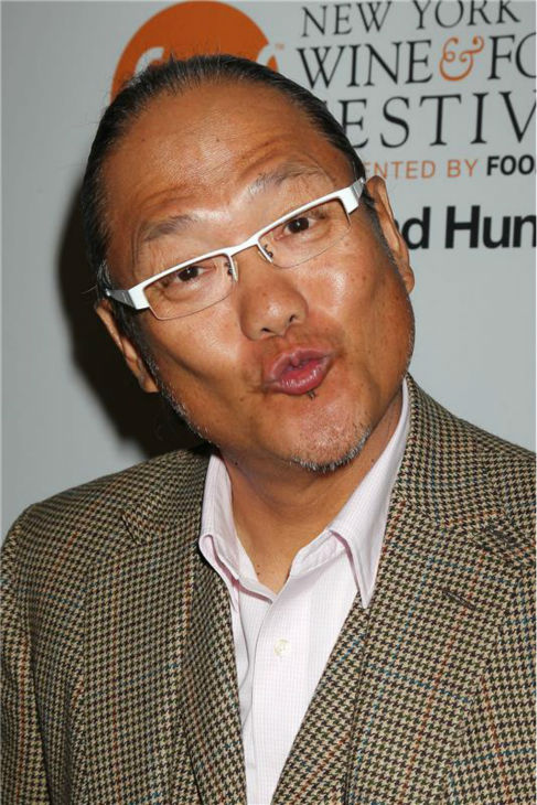 &#39;Iron Chef America&#39; star Masaharu Morimoto attends the Food Network&#39;s 20th birthday bash at the New York City Food and Wine Festival at Pier 92 on Oct. 17, 2013. <span class=meta>(Dave Allocca &#47; Startraksphoto.com)</span>