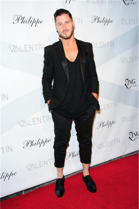'Dancing With The Stars' pro dancer Val Chmerkovskiy attends a launch party for VALENTIN, his urban streetwear couture brand clothing line, in Los Angeles on Oct. 17, 2013.