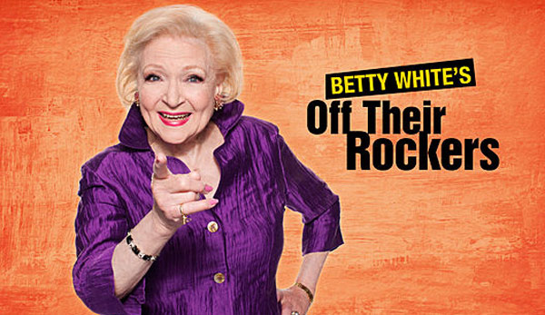 Pictured: Still image of Betty White in the upcoming television show 'Off Their Rockers.'