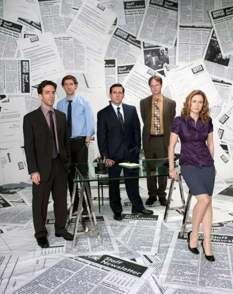 Still image of the cast of 'The Office.'