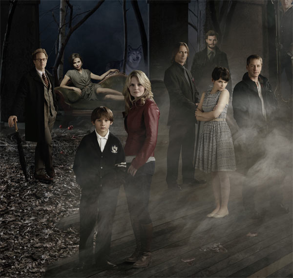 Still image of the cast from the show 'Once Upon...
