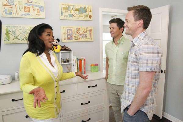 Oprah Winfrey on a tour of Neil Patrick Harris and David Burtkas home in Los Angeles in May 2012. - Provided courtesy of George Burns / Harpo, Inc.