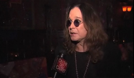 Ozzy Osbourne talks hitting the road with rocker slash on the Scream Tour.