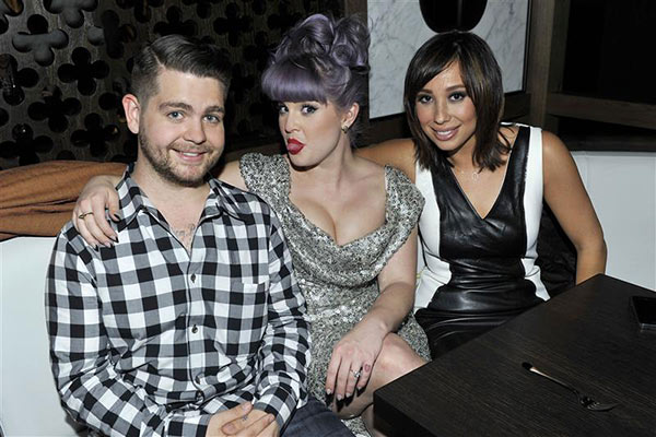 Kelly Osbourne celebrates her 29th birthday with brother Jack Osbourne and his &#39;Dancing With The Stars&#39; partner Cheryl Burke at Hakkasan Beverly Hills on Oct. 16, 2013. <span class=meta>(Michael Simon &#47; Startraksphoto.com)</span>