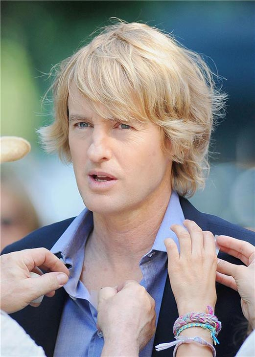 "<div class=""meta image-caption""><div class=""origin-logo origin-image ""><span></span></div><span class=""caption-text"">Owen Wilson appears on the New York City set of the 2014 movie 'Squirrels To The Nuts' on July 16, 2013. (Ken Katz / Startraksphoto.com)</span></div>"