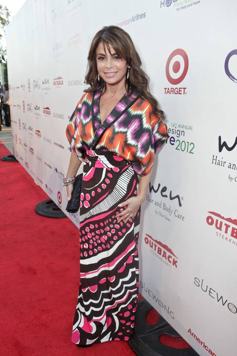 Former 'American Idol' judge Paula Abdul attends the HollyRod Foundation's 14th Annual Design Care on July 21, 2012 in Malibu, California.