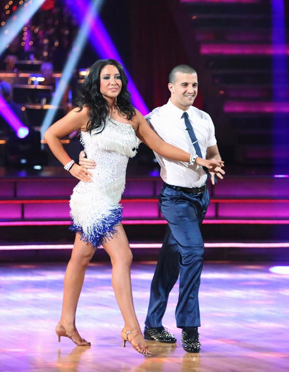Reality star Bristol Palin and her partner Mark Ballas received 19.5 out of 30 points from the judges for their Cha Cha Cha on the season premiere of &#39;Dancing With The Stars: All-Stars,&#39; which aired on September 24, 2012.  <span class=meta>(ABC Photo&#47; Adam Taylor)</span>