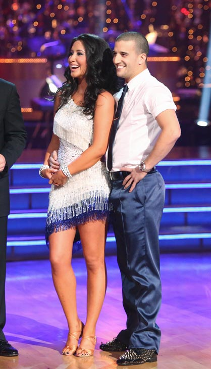 Bristol Palin and Mark Ballas appear in a still...